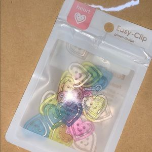 Other - Cute heart paper clips - brand new pack